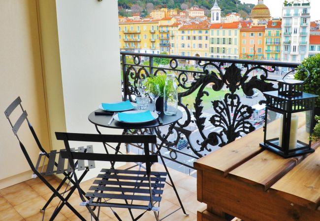 Apartment in Nice - BBB G Terrasse Felix Faure 1 Masséna Promenade Ang