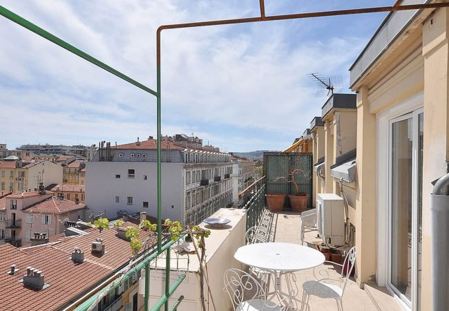 Apartment in Nice - CC G Terrasse Masséna Grimaldi Promenade Anglais